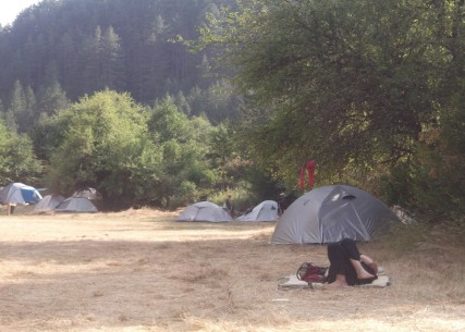 CAMPING VOVOUSA2013